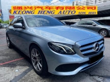 2016 MERCEDES-BENZ E-CLASS E200 CKD 30K KM Full Service Free 2 Years Warranty