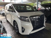 2016 TOYOTA ALPHARD 2.5 G High Spec, 8 Seathers , JBL Sound System ,
