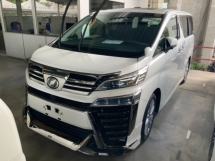 2018 TOYOTA VELLFIRE 2.5 Z Surroof Modellista Kit Many unit Great Condition High spec Free Gift 3 Years Warranty Unreg