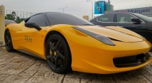 2011 FERRARI 458 ITALIA FULL SERVICE BY NAZA MILEAGE DONE 27K VIP OWNER