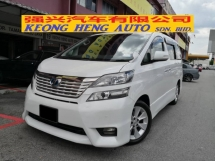 2009 TOYOTA VELLFIRE 2.4 Z PLATINUM YEAR MADE 2009 Home Theatre Power Boot ((( FREE 2 YEARS WARRANTY )))