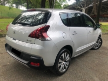 2015 PEUGEOT 3008 1.6 THP FACELIFT (A) FULL SERVICE RECORD