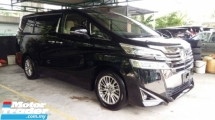 2018 TOYOTA VELLFIRE 2.5 X New Facelift 8 Seather High Spec Unregister