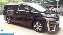2019 TOYOTA VELLFIRE 2.5 ZG New Facelift full ALPINE 3 LED 360 Camera