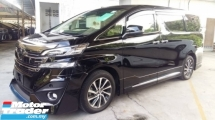 2015 TOYOTA VELLFIRE 3.5 VL Full Spec Bodykit JBL 360 Camera Sunroof