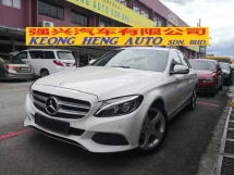2015 MERCEDES-BENZ C-CLASS C200 W205 Local TRUE YEAR MADE 2015 ((( FREE 2 YEARS WARRANTY ))) Avantgarde Full Service Hap Seng