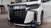 2019 TOYOTA ALPHARD 2.5 SC Bodykit 3 LED 360 Camera Unreg