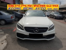 2016 MERCEDES-BENZ C-CLASS C250 2.0 AMG LINE (FREE 2 YEARS CAR WARRANTY) (CKD) REG 2017