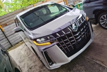 2019 TOYOTA ALPHARD 2.5 SC 3 LED FACELIFT NAPPA LEATHER SEAT DIM BSM PRE CRASH ANDROID 19 JAPAN UNREG FREE GMR WARRANTY