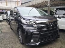 2015 TOYOTA VELLFIRE 2.5 Z G INC SST 3 Years Warranty JBL Sound System 360 Cameras Pre Crash Full Spec Japan Unreg