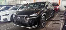 2014 LEXUS NX 200T F SPORT FULLSPEC.UNREGIST.TRUE YEAR CAN PROVE.HALF SST.POWER BOOT.RED LEATHER.MEMORY SEAT N ETC