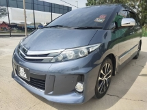 2014 TOYOTA ESTIMA 2.4 AERAS PREMIUM G LOOK LIKE NEW 1 CAREFUL OWNER