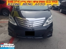 2009 TOYOTA ALPHARD 3.5 GL (FREE 2 YEARS CAR WARRANTY)(FULL SPEC) Reg 2011