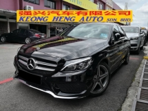 2017 MERCEDES-BENZ C-CLASS C200 AMG 9G Tronic CKD TRUE YEAR MADE 2017 Mil 40k Full Service Cycle Carriage MBM Warranty to 2022