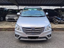 2016 TOYOTA INNOVA 2.0 G (A) LIKE NEW