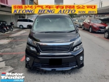 2011 TOYOTA VELLFIRE 2.4 ZG EDITION (FREE 2 YEARS CAR WARRANTY) REG 2015