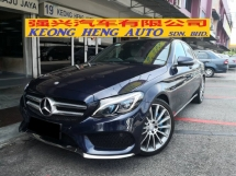 2017 MERCEDES-BENZ C-CLASS C350e 2.0 CKD TRUE YEAR MADE 2017 AMG Mil 37k Only Full Service Hap Seng Warranty 2021