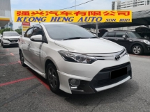2014 TOYOTA VIOS 1.5S Original TRD Sportivo YEAR MADE 2014 Full TRD Leather Skirting
