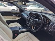 2013 MERCEDES-BENZ E-CLASS 2013 Mercedes Benz E250 AVANTGARDE (CKD) 2.0