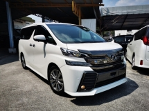 2017 TOYOTA VELLFIRE 2.5 Z GOLDEN EYES