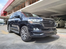 2016 TOYOTA LAND CRUISER 4.6 ZX LANDCRUISER ZX MEGA FULL SPEC (UNREG)
