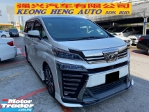 2018 TOYOTA VELLFIRE 2.5 FACELIFT ZG TRD Sunroof Power Boot Reg 2020