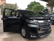 2018 TOYOTA VELLFIRE 2.5 V LARGE MPV 8 SEAT 2 POWER DOOR n BOAT P/CRASH