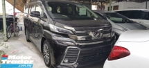 2017 TOYOTA VELLFIRE 2.5 ZG / PRE-CRASSH / PILOT SEATS / TIPTOP CONDITION