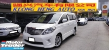 2010 TOYOTA ALPHARD 2.4 VVTI (A) S MODEL, FREE 2 YEAR CAR WARRANTY
