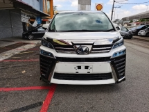 2018 TOYOTA VELLFIRE 2.5 Z (A) LIKE NEW