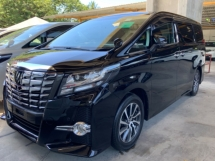 2017 TOYOTA ALPHARD 2.5 SA surround camera power boot 3 years warranty Precrash system Unregistered