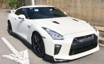 2017 NISSAN GT-R GT-R BLACK EDITION