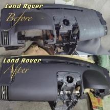 LAND ROVER DASHBOARD  Dashboard > Dashboard
