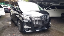 2016 TOYOTA ALPHARD 2.5 SC with Full Spec
