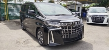 2019 TOYOTA ALPHARD 2.5 SC WITH SUNROOF AND TRIPLE LED