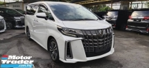 2019 TOYOTA ALPHARD 2.5 SC WITH SUNROOF AND TRIPLE LED DIM & BSM