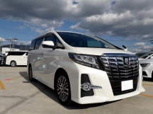 2017 TOYOTA ALPHARD 2.5 SC with Sunroof,ALPINE SET