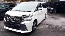 2018 TOYOTA VELLFIRE 2.5 ZG WITH SUNROOF & ALPINE SET