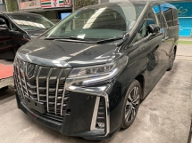 2018 TOYOTA ALPHARD 2.5 SC WITH SUNROOF SPEC