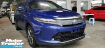 2017 TOYOTA HARRIER 2.0 TURBO PREMIUM / SUNROOF / POWER BOOT / READY STOCK NO NEED WAIT / LOW MILEAGE HIGH GRED UNIT