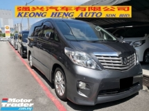 2010 TOYOTA ALPHARD 2.4 S PRIME Z Platinum Edition HOME THEATER 2 Power Doors ((( FREE 2 Years Warranty ))) 2015