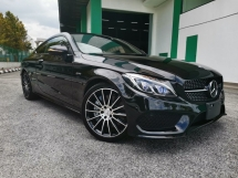 2017 MERCEDES-BENZ C-CLASS C43 AMG COUPE UNREGISTERED 5 YEARS WARRANTY