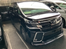 2016 TOYOTA VELLFIRE 2.5 ZG Modellista Bodykit Pilot seat Surround camera Power boot Unregistered