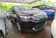 2017 TOYOTA HARRIER TOYOTA HARRIER 2.0 FACELIFT 4 CAMERA POWER BOOTH BLACK INTERIOR PRE CRASH 2017 JAPAN UNREG FREE 3 YR
