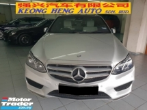 2015 MERCEDES-BENZ E-CLASS E300 AMG HYBRID DIESEL (CKD LOCAL SPEC)