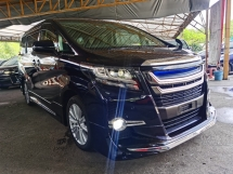 2016 TOYOTA ALPHARD 2.5 MODELLISTA VERSION ALPINE SOUND 4 CAMERA POWER BOOTH 2016 JAPAN UNREG FREE GMR WARRANTY