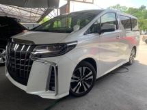 2020 TOYOTA ALPHARD 2.5 SC New Facelift  3LED S/Roof 4Cam BSM DIM 5A