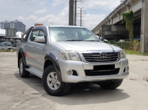 2013 TOYOTA HILUX 2.5 G VNT RAYA OFFER CLEAR STOCK PRICE