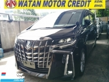 2020 TOYOTA ALPHARD 2.5 SA S UNREG FULLSPEC.SUNROOF.7 SEATS.3 POWER DRS N BOOT.360 CAMERA.LED LIGHT.PRE CRASH N ETC.FREE