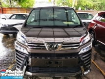 2019 TOYOTA VELLFIRE 2.5 ZG UNREGISTER.HI SPEC.PILOT SEAT.LEATHER.360 CAM.LED LIGHT.PRE CRASH N ETC.FREE WARRANTY N GIFTS